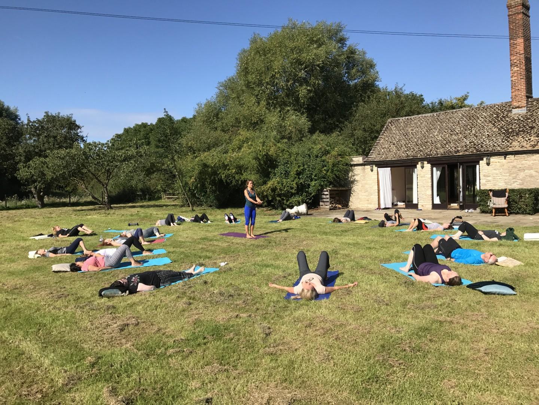 June Yoga Wellness Retreat Oxfordshire